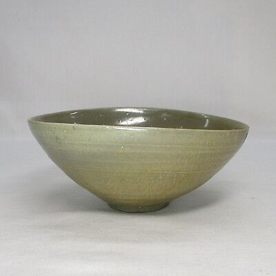 D999: REAL old Korean Goryeo Dynasty blue porcelain bowl of appropriate work