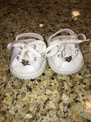 Build a Bear Skechers Sneakers White