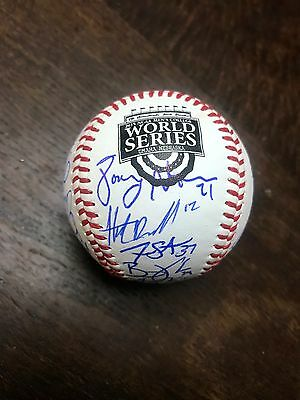 2015 Lsu Tigers Team Signed Baseball College World Series Coa Authentic Cws