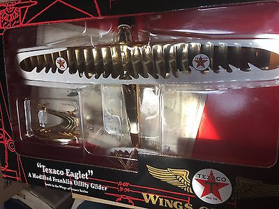 Rare! Gold Wings Of Texaco Eaglet Mint! Free Shipping!