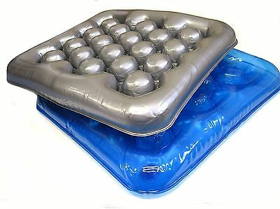 Air Water Inflatable Cushion Seat Pad for Wheelchair Office / School / Home UK