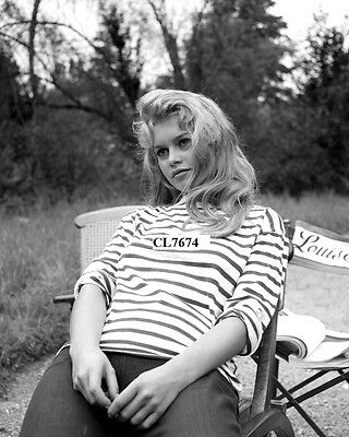 Brigitte Bardot on the Movie Set of 'The Bride is Much Too Beautiful' Photo