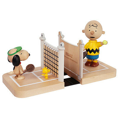 New Snoopy & Woodstock Tennis Bookends - Peanuts gifts toys collection