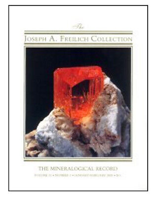 Mineralogical Record  VOLUME 31, NUMBER 1, Jan-Feb - MINT Condition