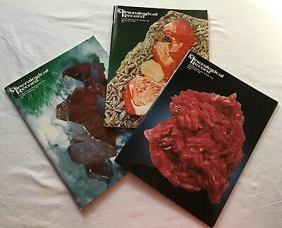 Mineralogical Record  VOLUME 27, NUMBER 2, March-April 1996 - New, Never Opened