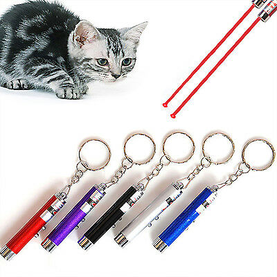 CHIC Ultraviolet Mini Money Detector Red  Pointer Pen LED Light Keychain toy