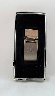 Always Coca-Cola Chrome Money Clip Barlow Norwood Brand New In Box