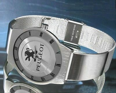 silver face watch for PEUGE0T 206 307 306 106 406 207 106 206 207 307 308 508 40