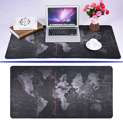 Anti-Skid Extra Large World Map Gaming Mouse Pad Mat Game Mousepad for Laptop PC