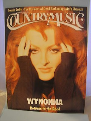 Country Music Magazine (March/April, 1996) Wynonna