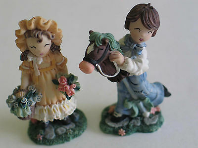 1997 IVY & INNOCENCE Pair Blossom Greene & Jonathan & Giddyup 2 pc. Lot