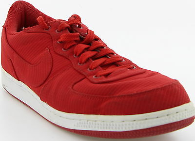 Men's NIKE Red Canvas Running Athletic Size 11