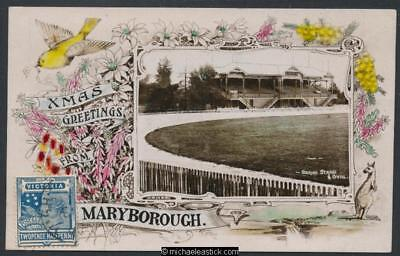 Maryborough, Vic. Oval and Grandstand