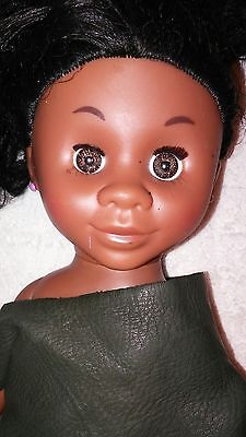 Kenya's World Black African American Baby Doll Toy