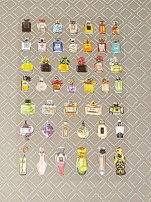 MINI Perfume Bottle Decoration Stickers for Planner or Craft Project