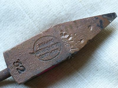 Vintage-Large-Evro No.32- Copper Head Soldering Iron--Old Tool