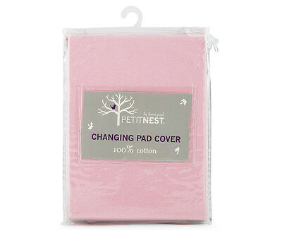 Petit Nest Changing Pad Cover - Pink