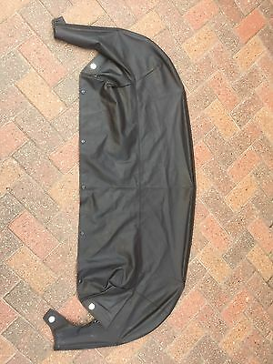 Mazda MX5 Black Tonneau Cover Mk2/Mk2.5...97 to 05