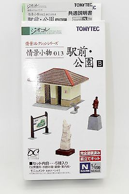Tomytec N Toilettes Pancarte Statue ... #013 - Diorama Collection 1/150