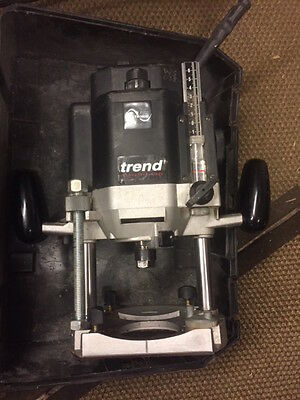 Trend T10EK 2000w 1/2in Variable Speed Router 230v