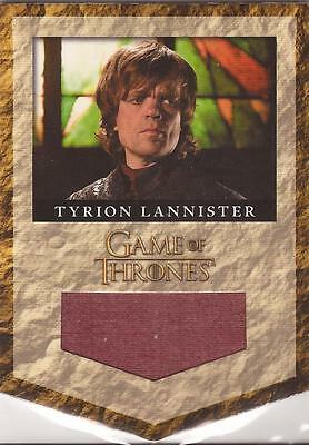 "Game of Thrones Season 2 - RL2 ""Tyrion Lannister Banner"" Relic Card #255/325"