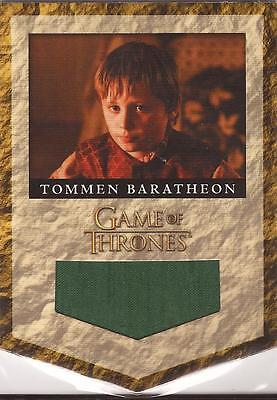 "Game of Thrones Season 2 - RB5 ""Tommen Baratheon Banner"" Relic Card #040/300"