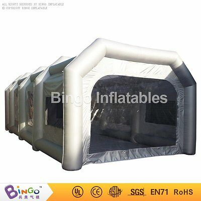 23ftx16ftx10ft / 7mx5mx3m Oxford Cloth Inflatable Car Spray Booth Paint Tent FE