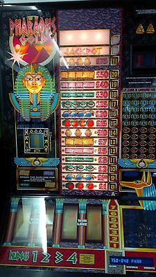 Pharaohs Gold BELL FRUIT MACHINE  Working with Faults