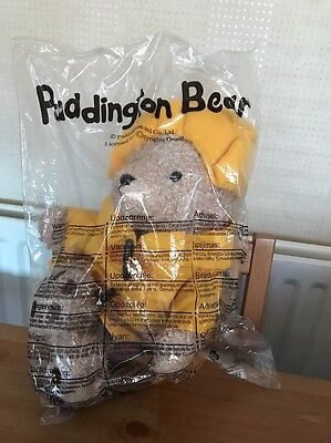 """Paddington Bear Plush Soft Toy Mint Sealed Official Licensed 15"""" Suitcase Tags Y"""