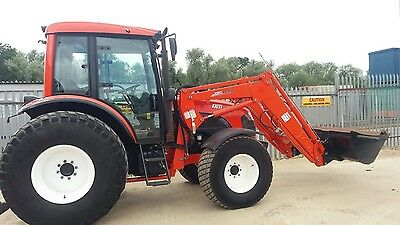 Kioti Tractor DX9010 with loader