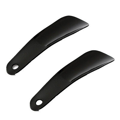Professional Plastic Shoehorn Spoon Shoes Lifter Portable Spoon Shoe Horn POP