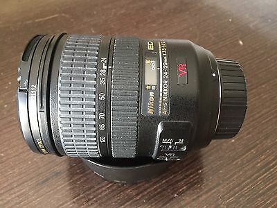 Nikon AF-S 24-120mm F3,5-5,6G VR SWM ED IF Aspherical.