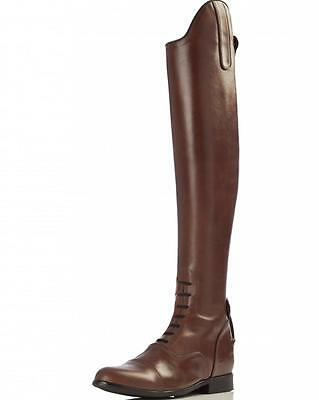 New Handmade Equestrian Show jumping Hunter Horse Riding Leather Boot UK 3-12