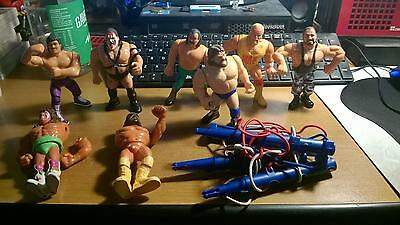 Lotto 6 Action Figure Wrestling  Hasbro Anni 90Vintage Wwf Hulk Ultimate Ecc