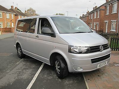 Vw T5 Blue Motion 114Ps 2013  24965 Mls Only. Rib Bed (£2400)Never Slept On.