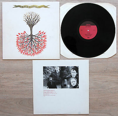 """LUNGFISH - Love Is Love 12"""" LP - Dischord 2003 DIS137V VG+"""