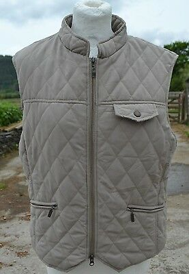 Mary Anne * Beige Horse Pony Riding Gilet * Bodywarmer * Waistcoat * Age 16 *