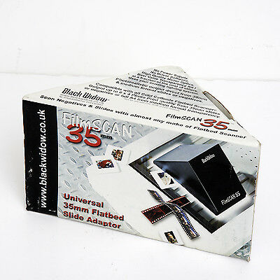 FILMSCAN 35mm BLACK WIDOW Universal flatbed slide/Neg adaptor, Scanner,Viewer