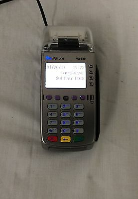 VERIFONE VX520 CREDIT CARD Smart Reader/Swipe~with cords