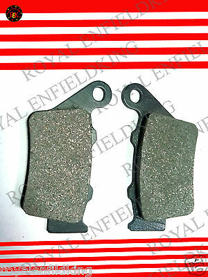 2 X Brand New Royal Enfield Classic Model Front Disc Brake Pad Set Pair