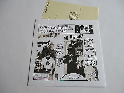 """The Bees - Voices Green And Purple 7"""" (Pic)(Purple Vinyl)   Punk/garage/60's"""