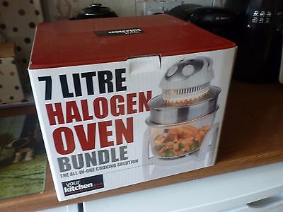 Your Kithen Halogen Oven Bnib