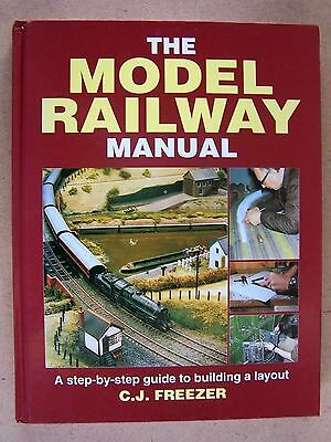 """THE MODEL RAILWAY MANUAL."" Building a trains layout BOOK."