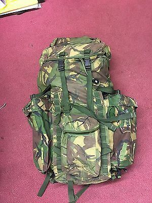 British Army Combat Rucksack Bergen 120L DPM MTP with Side Pockets Long back