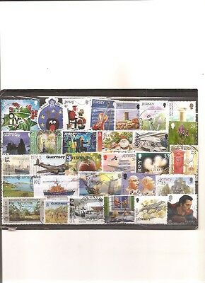 timbres guernesey jersey 100 timbres