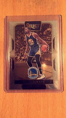 Kevin Durant Golden State Warriors 2016/17 Panini Select Basketball Card