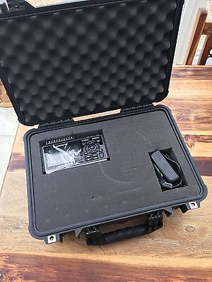 GRAPHTEC GL220 10-channel Data Logger complete with Pelican carry case.