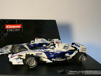 Carrera Evolution 27246 BMW Sauber F1.07 Livery 2008 No. 3 Nick Heidfeld NEW