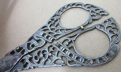 Ricordo Di Venezia Antique Italian Embroidery Scissors - 1880s Terzano