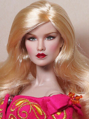 "OOAk Repainting 12"" Fashion Royalty Doll Dynamite Girls ""Jules"" by INI"